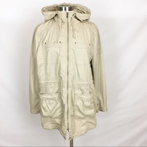 KENNETH COLE | Light Anorak Hooded Jacket Zip Up